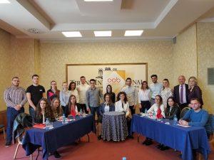 AAB bashkëpunon me ASD në organizimin e debatit për studentë të fakulteteve ekonomike