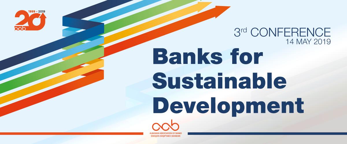 """{:sq}Konferenca e 3-të e AAB-së """"Bankat për zhvillim të qëndrueshëm""""{:}{:en}AAB 3rd Conference """"Banks for Sustainable Development""""{:}"""