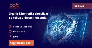 {:sq}Siguria Kibernetike dhe sfidat në kohën e distancimit social{:}{:en}Siguria Kibernetike dhe sfidat në kohën e distancimit social{:}